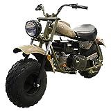 Massimo Warrior200 196CC Sand Mini Moto Trail Bike MX Street