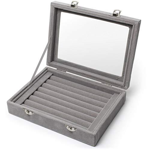 iGadgitz Home U6997 - Caja Anillo Caja Joyero Organizador de