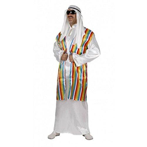 Atosa - Disfraz de peregrino arabe, Adulto t.3