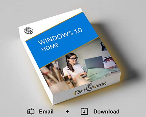 Windows 10 Home Vollversion | Aktivierungspaket | Original Produktschlüssel + 32-/64-bit Software Download-Link | EU-Konform