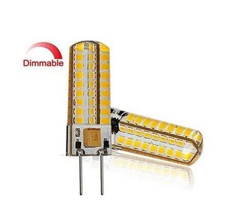 Best to Buy® Lot de 6 GY6.35 6,5 W LED blanc, 5000 K, DIMM Bar 12 V – 18 V AC/DC Tension AC avec 72 x 2835smds (Epistar) ~ 50–65 W 330 ° broches