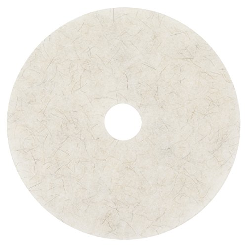 3M Natural Blend White Pad 3300, 20 in