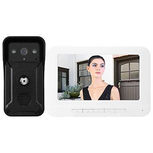 Videoportero Kit de visión Nocturna, para Seguridad en el hogar, para(European Standard (100-240v))