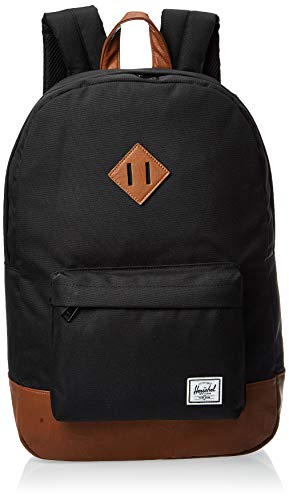 Herschel 10007-00055 Heritage Black/Tan Synthetic Leather