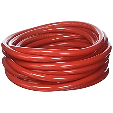 25 Foot Red Gas/Air Hose, 5/16 inch ID and 9/16 inch OD by Kegconnection