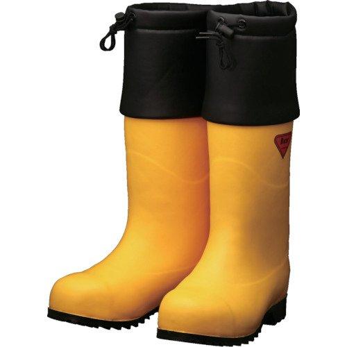 SHIBATA 防寒安全長靴 セーフティベアー#1001白熊(イエロー) AC091-23.0 防寒長靴