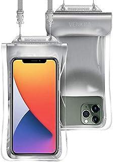 防水ケース スマホ用 IPX8認定 完全保護 密封 水中撮影 タッチ可 風呂 海 プール 釣り 雨 潜水 水泳 雪 温泉など適用 iPhone 11 Pro XS MAX XR X 8 7 6s 6 Plus SE 5s Samsung S10...