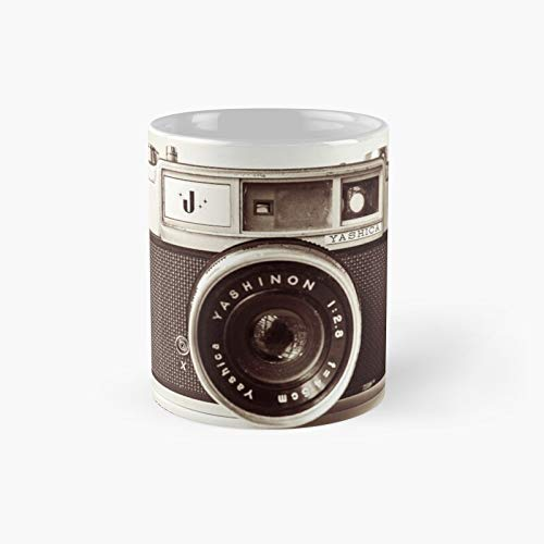Camera Retro Classic Mug A - Novelty Ceramic Cups Inspirational Holiday Gifts For Men & Women, Him Or Her, Mom, Dad, Sister, Brother, Coworkers, Bestie.
