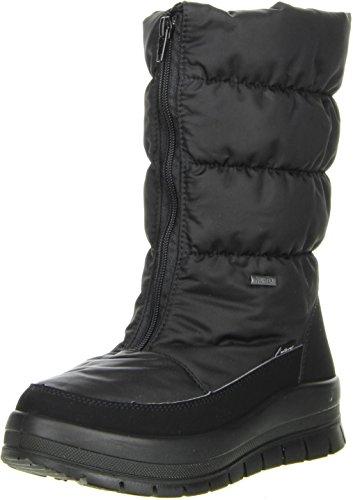 Vista Damen Winterstiefel Snowboots schwarz, Größe:38;Farbe:Schwarz