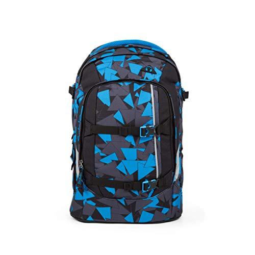 satch Pack Blue Triangle, ergonomischer Schulrucksack, 30 Liter, Organisationstalent, Blau