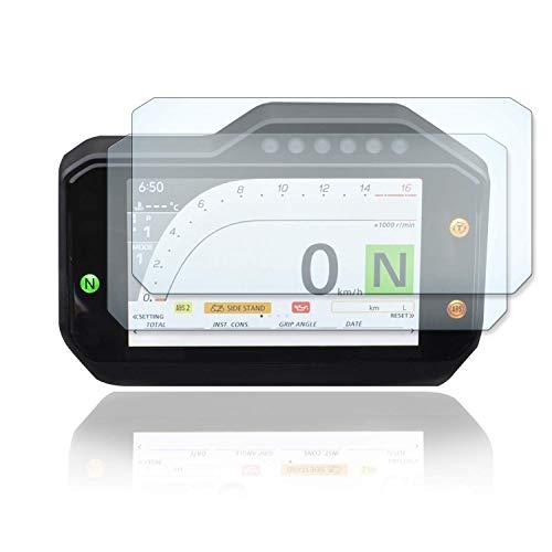 [2 Stück] Displayschutzfolie Tacho Schutzfolie geeignet für HONDA CBR1000RR - SP SC82 2020+ 2x Ultra Clear