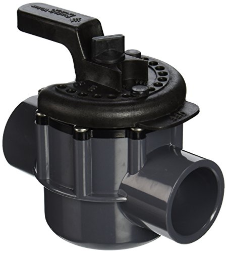 Pentair 263038 1-1/2-Inch 2-Way PVC Diverter Valve