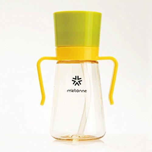 ノン毒性 Non Toxic Straw Cup ストロー コップ for Baby 圧力 コントロール エアー バルブ 流出 防止 バルブ Leak Prevention Valve Baby ストロー Bottle Cup 300ml BPA Free