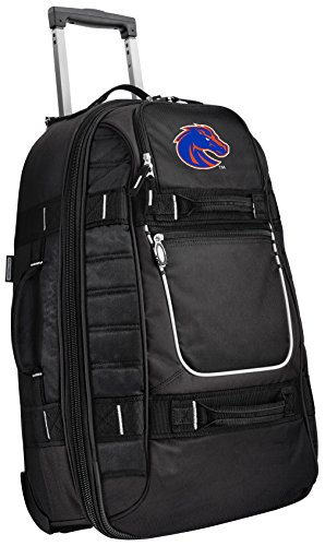 Best Bargain Small Boise State University Carry-On Bag Wheeled Suitcase Luggage Bags