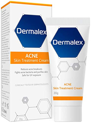Dermalex Acne Treatment Cream – Clinically Proven to Treat Mild to...