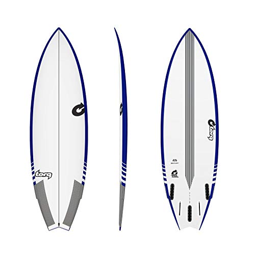 TORQ Epoxy Tec Go-Kart 5.10 - Tabla de Surf, Color Azul