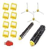 Leadaybetter Ersatzkit 700-Serie Ersatzzubehör-Kit für die iRobot Roomba 700-Serie 720 750 760 770 776 780 Teilesatz Bürsten Zubehör für die iRobot Roomba-Serie