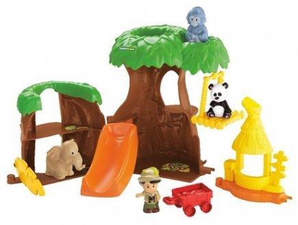 Fisher-Price - l'arbre Maison des Animaux Little People 1-5 Ans