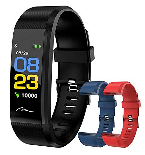 Media-Tech SMARTBAND Active-Band Color MT859 Heart Rate, Blood Pressure Monitor, Pedometer, Activity Tracker