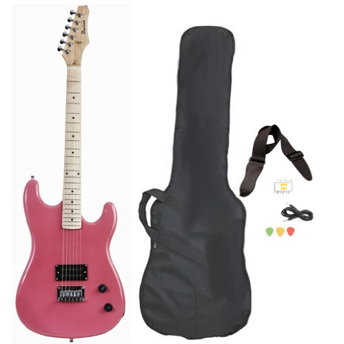 Davison Full Size Black Electric Guitar starter package review