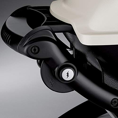 Weber 51010001 Q1200 LP Gas Grill, Black