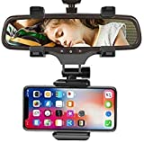 Ceuta Retails Cell Phone Holder - Car Mount Holder Car Rearview Mirror Mount Holder Truck Auto...