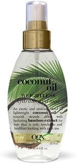 (OGX) Organix Coconut Oil Weightless Hydrating Oil Mist 4oz by (OGX) Organix