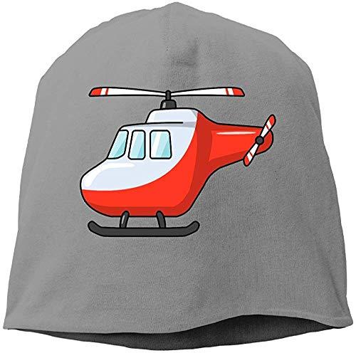 RROOT Modischer Helikopter-Hut aus Wolle, einfarbig, für Unisex