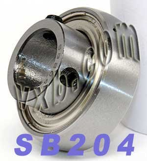 SB204 Bearing 20mm Bore Insert Mounted Bearings VXB Brand