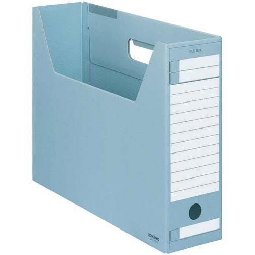 コクヨ ファイルボックス Dタイプ B4横 青 5個