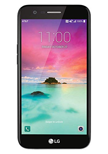 LG K20 AT&T Unlocked 16 GB 4G LTE 5.3 inches 8 MP - Black (Renewed)