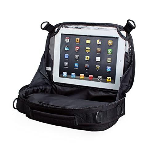 USA Gear Custodia da Viaggio Supporto Auto Lettore DVD Portatile e Tablet da 7' a 10'' con Strap per , DBpower , Apple iPad , Koolertron e altri
