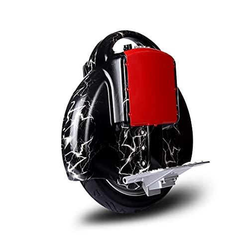 GUHUIHE Uniciclo eléctrico con Bluetooth Audio y Linterna Smart Balance Coche para...