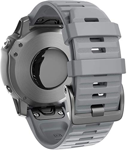 Chainfo Correa de Reloj Recambios Correa Relojes Caucho Compatible con Garmin Instinct/Instinct Solar/Instinct Tactical - Silicona Correa Reloj con Hebilla (Pattern 3)
