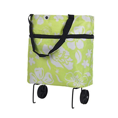 Z-SEAT Einkaufswagen Leichtgewichtige Faltbare Faltbare Einkaufswagen Gepäck Reisetasche Wagen Auf Rädern Home Praktisches Zubehör Wiederverwendbare Einkaufstaschen