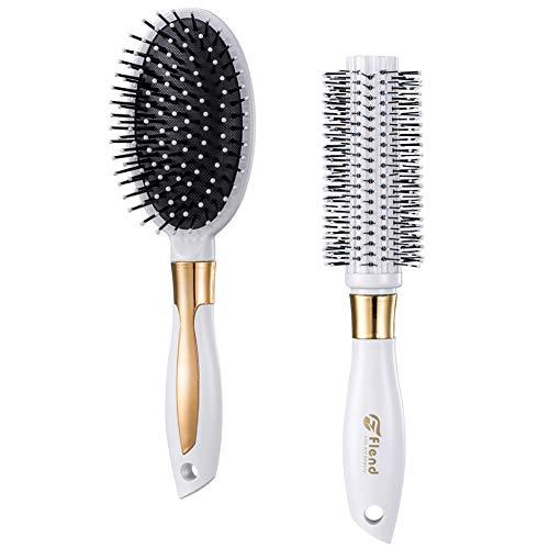 Flend Cepillo para hombre y mujer. Conjunto de cepillo redon