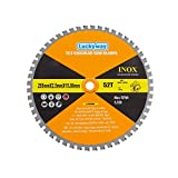 Luckyway 10 Inch 52 Teeth with 5/8 Inch Arbor Multi-purpose TCT Circular Saw Blade for Cutting Wood, Aluminum and Non-ferrous Metals