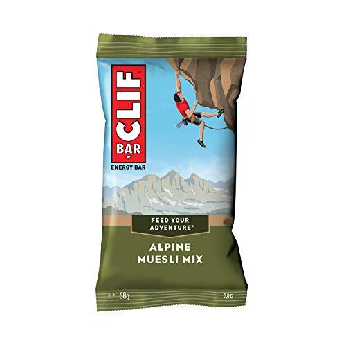 Clif Bar Energiereicher Haferriegel mit Hafer, Erdnüssen und Schokolade (mit 12 Stück), 816 ml