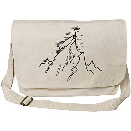 Azeeda 'Mount Everest Summit' Cotton Canvas Messenger Bag (MS00018185)