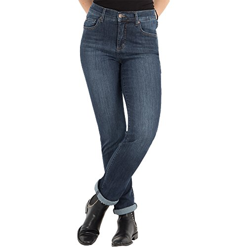 Angels Damen Jeans,Cici' mit Used-Details