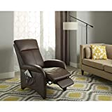 Reclining Chair- Addin Recliner Chair, This Smart Looking Chair Made with Durable Vinyl Composition. Perfect Piece of Office Furniture and Living Room. This Chair Is Padded with Comfortable Polyurethane Foam