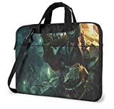 15.6 Inch Laptop Bag, League Legends for Women and Men Tablet Shoulder Bag Carrying Case Shoulder Messenger Bag Case Sleeve, Laptop Sleeve Briefcase, Gangplank