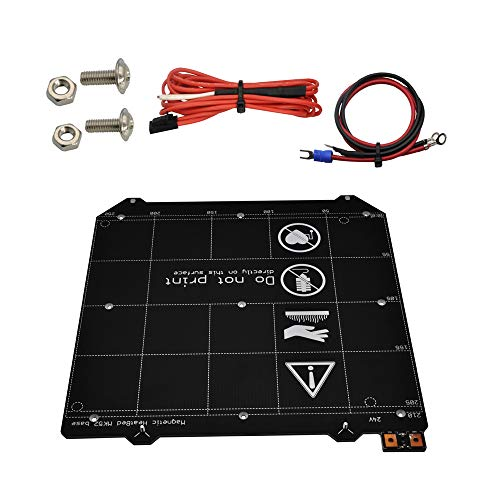 Y Carriage Magnetic PCB Hot Bed MK52 Heated Bed 24V Hotbed Without Magnets for Prusa i3 MK3 MK3S 3D Printer
