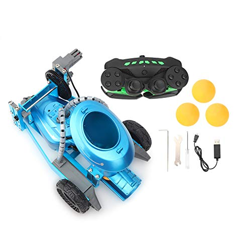 Cuque Robot de Tenis de Mesa Robot de Tenis de Mesa, Robot de Entrenamiento, máquina de Tenis de Mesa con Control Remoto, para niños, Adultos, niños y niñas(Blue)