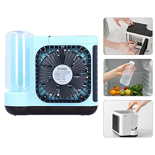 KAKAKE Enfriador de Aire, olores Mini Aire Acondicionado Viento de Tres velocidades Práctico para Oficina para Dormitorio