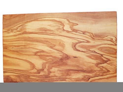 Tagliere rettangolare in legno di ulivo, ca. 15 x 24 x 1,3 cm