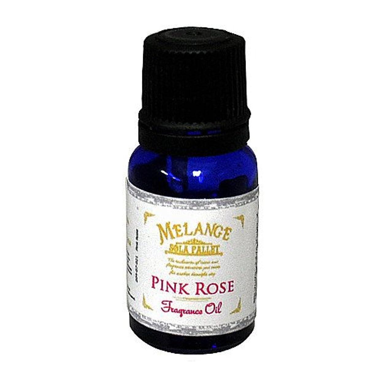 突き刺すシェア化学薬品SOLA PALLET MELANGE Fragrance Oil フレグランスオイル Pink Rose ピンクローズ