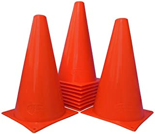World Sport Set of 15 Orange Nine Inch Cones