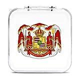 The Royal Coat Of Arms Of The Switch - Caja de almacenamiento para tarjetas de memoria SD con 12 ranuras