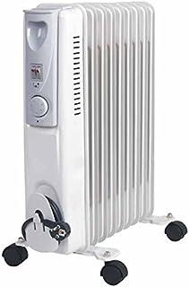 Syntesy cdf01559Estufa radiador de aceite, 9elementos, 2000W, color blanco